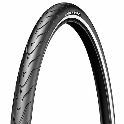 Michelin Energy Tube Type Reflective Tyre - Black, 700 x 35 C