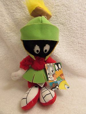 "Marvin the Martian Plush toy 11"" Stuffed Looney Tunes Warner Bros Animal NEW"