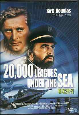 20,000 Leagues Under The Sea   New   Dvd