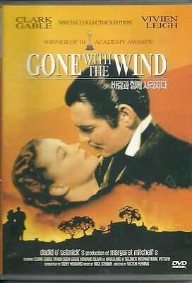 Gone With The Wind   New   Dvd