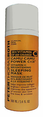 Peter Thomas Roth Camu Camu Power CX30 Brightening Mask 3.4 Ounce (Unboxed)