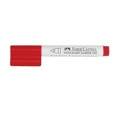 Faber Castell Whiteboard Marker Red x 2