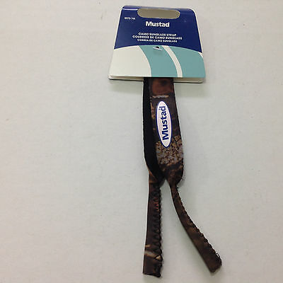 Mustad Camo Neoprene Sunglass Strap MSTD-74A NIP Fishing Sports