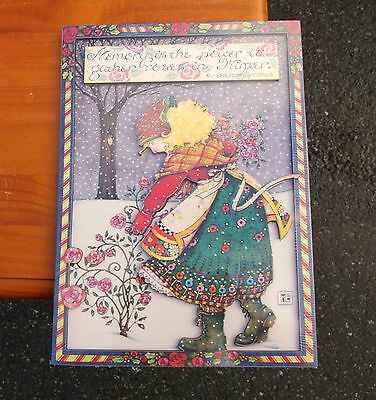 Mary Engelbreit Cards To Keep Memory Is The Power To Gather Roses In Winter