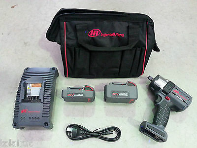 "Ingersoll Rand 20V Impact Wrench Kit 1/2""DVE W5152"