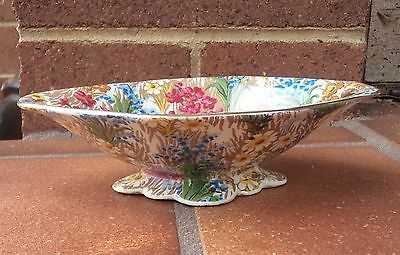 Royal Winton Chintz  Marguerite Footed Nut Bowl Dish