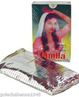 1x100g Jamila Henna Powder Summer Crop 2016 Body Art Quality Organic Mehandi