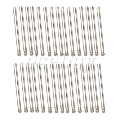 30pcs 3mm Diamond Coated Rotary Sphere Point Burr Jewelry Tipped Glass Drill Bit