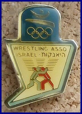 Israel Wrestling Association Games of the XXV Olympiad barcelona 92 lapel pin