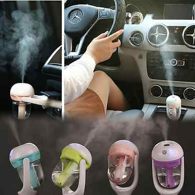 Essential Diffuser Ultrasonic Mist Aroma Car Vehicle Humidifier Air Purifier IW