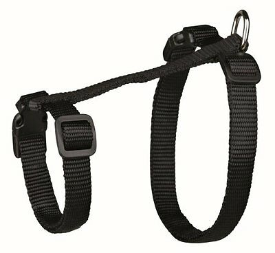 Trixie 41960 Cat Set Of Harness And Lead For Large Cats Nylon 34 57 Cm/13 Mm- Ne