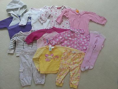 Pre-loved baby Girls Winter Bundle, Size 00, 11 items in good used Condition!