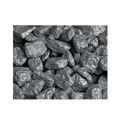 Silver Colored Decorative Rocks Garden Landscaping Aquarium Pond Stones Deco