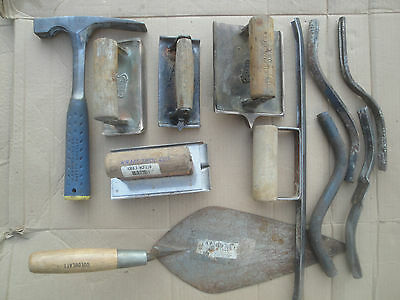 MASONRY TOOLS tool lot,goldblat,estwing,kraft