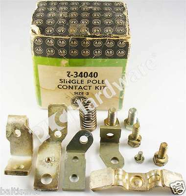 New Allen Bradley Z-34040 /A Contact Kit for Size 3 Contactor Or Starter 1 Pole