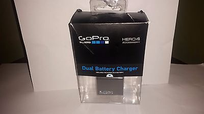 GoPro Dual Battery Charger + Extra Battery for Hero 4 Original OEM Brand New!