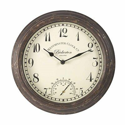 Bickerton Wall Clock And Thermometer