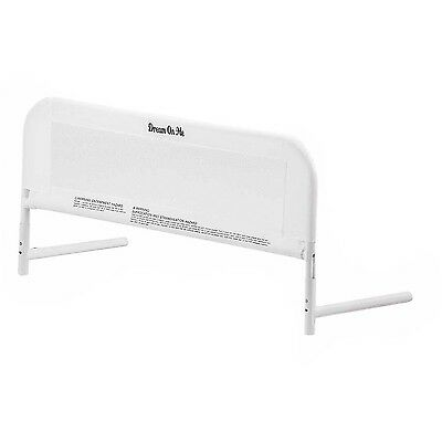 Dream On Me Mesh Security Crib Rail White new