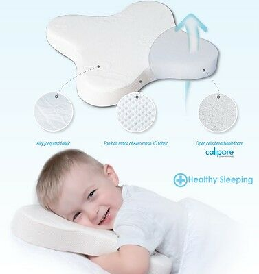 BABY Butterlfy PILLOW BREATHABLE FOAM JACQUARD FABRIC Thermoactive Anti-Allergy