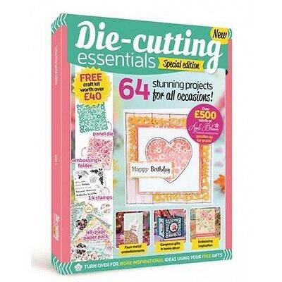 Die Cutting Essentials Magazine Special Edition With Free Craft Kit Worth £40