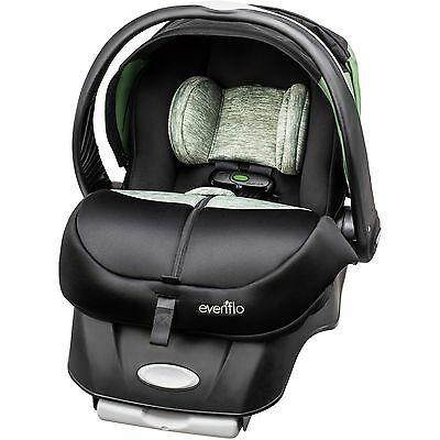 Evenflo Advanced Embrace DLX Infant Car Seat with SensorSafe Peridot new