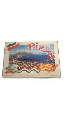 Pizzakarton 60x40x4 cm, 50 Stk , Pizzakarton, Pizzabox, Party