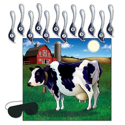 Pin Tail On Cow Game