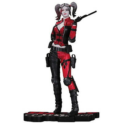 DC Comics Injustice 2 Harley Quinn Red, White, and Black Statue DC Collectibles