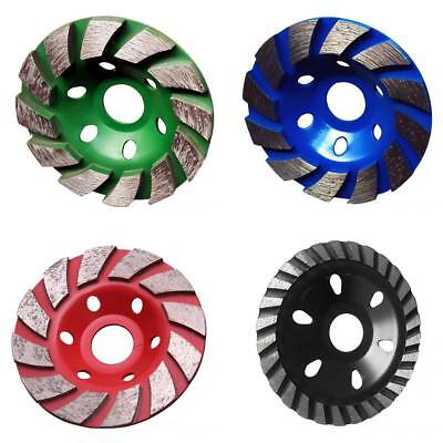 4 Colors Grinding Wheel Concrete Cup Disc Stone DIY Polishing High Speed