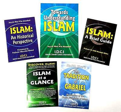 ESSENTIAL READING: Towards Understanding Islam:  Pack of 5 Publications - IDCI