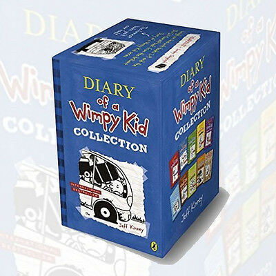 Jeff Kinney Diary of a Wimpy Kid Collection-10 Books Box Set (Dog Days, Ugly Tru