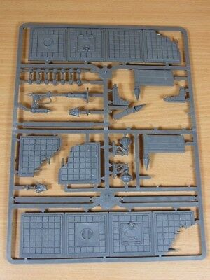 Part Used Warhammer Scenery Sprue Gothic Ruins Building Parts Sold As Seen (F-21