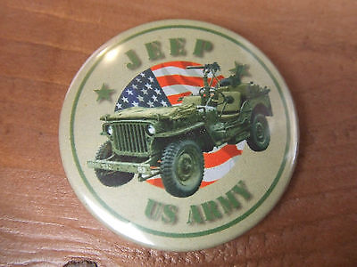 Magnet Jeep Willys Us D-Day