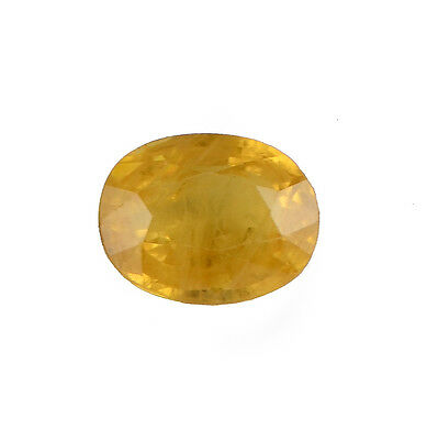 5.30 C.T. Gemstone Ebay Special 100 % Original Oval Shape Yellow Sapphire