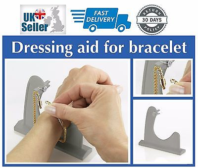 Wenko Rheumatism Dressing Mobility Aid Bracelet Helper Jewellery Fastener Holder