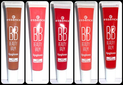 Essence BB Beauty Balm lipgloss with shea butter, Lipgloss