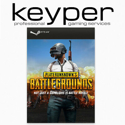 PLAYERUNKNOWN'S BATTLEGROUNDS Steam-Account PC Download, kein Key/Code