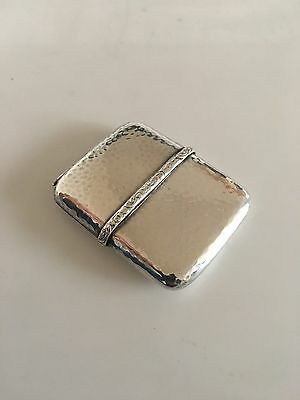 Nice Little Matchstick Holder in Silver