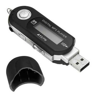 Lettore WMA MP3 Digitale FM Radio fino 32GB MP3-Player USB 2.0 Flash Micro SD