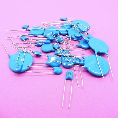 High Voltage 1KV Ceramic Disc Capacitors Range of Values 22pF-6800pF 10nF-100nF