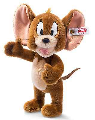 Steiff Jerry Mouse Russet Mohair Tom and Jerry 20cm Limited Ed 354595