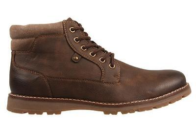 Uncut Napier Chocolate Shoes Lace Up Boot Casual Dress Formal Work Men's