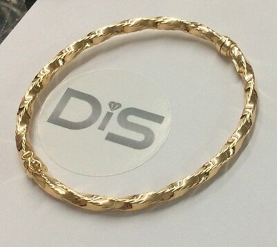 375 9ct Yellow Gold Bangles - Ladies - Stackable Vintage