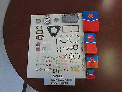 Rebuild overhaul kit SPACO for Lucas CAV/DPA injection pumps on tractors