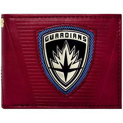 New Official Guardians Of The Galaxy 2 Emblem Red Id & Card Bifold Wallet