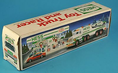 Hess Toy Truck and Racer 1991 New In Box Clean NR