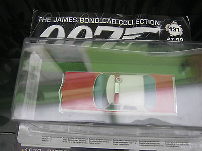 The James Bond car collection Issue 131*CHEV BEL AIR POLICE CAR & Magazine/ Rare