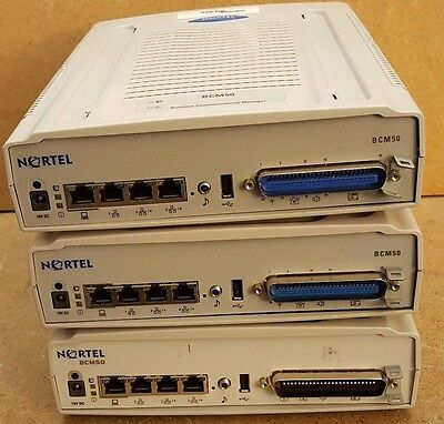 3 - NORTEL BCM50 BUSINESS COMMS MANAGER EXPANSION UNIT NNTMHD0085U8 (ph07)