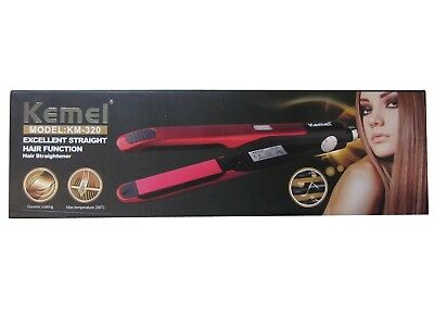 Lisseur Electrique Pro Excellent Straight Hair Function Ceramic Km-320 230°