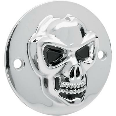 Drag Specialties Chrome 3-D Live To Ride Points Cover 1970-2017 Harley FL FX XL